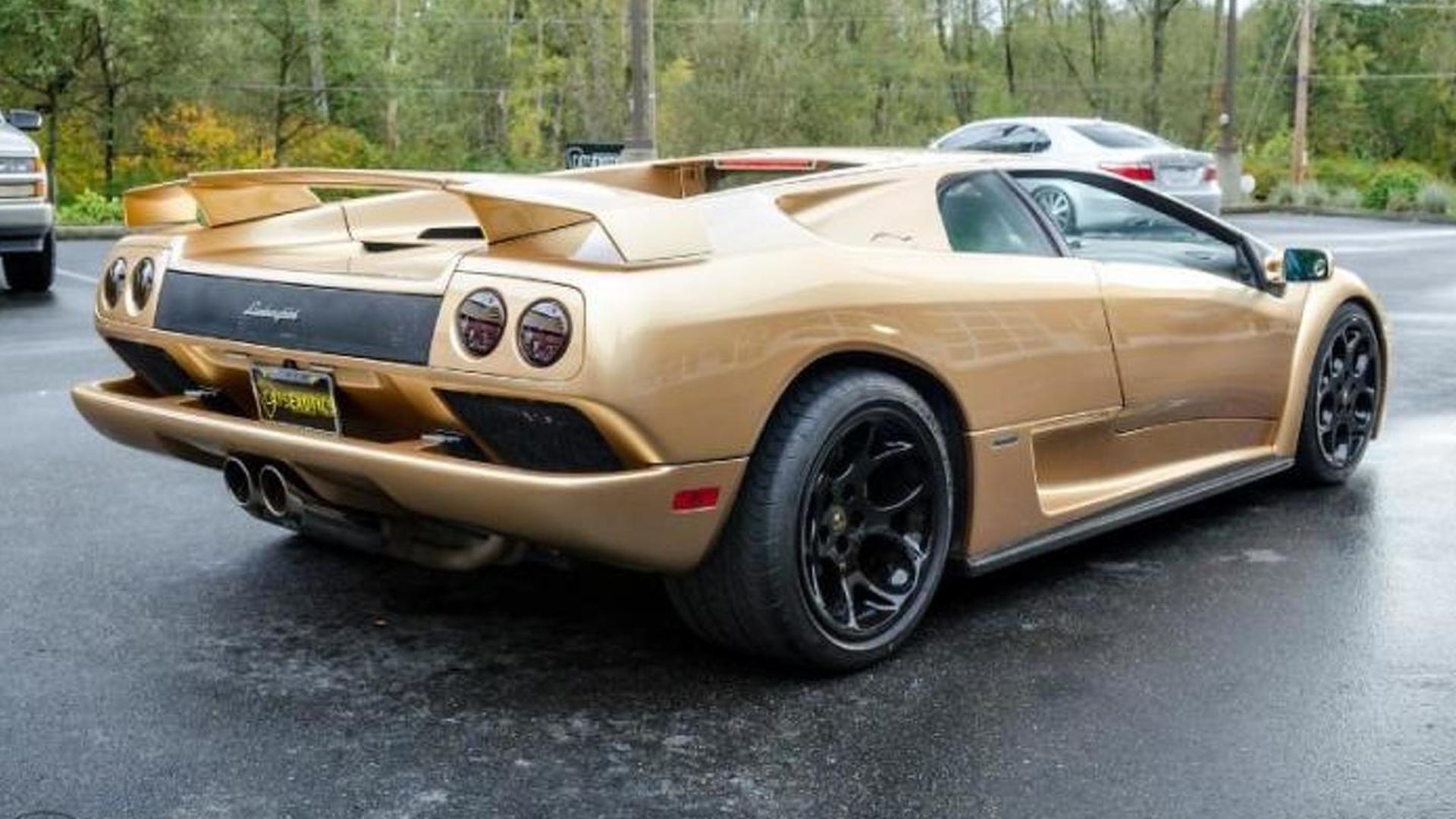 Одна из 20-ти Lamborghini Diablo 6.0 SE