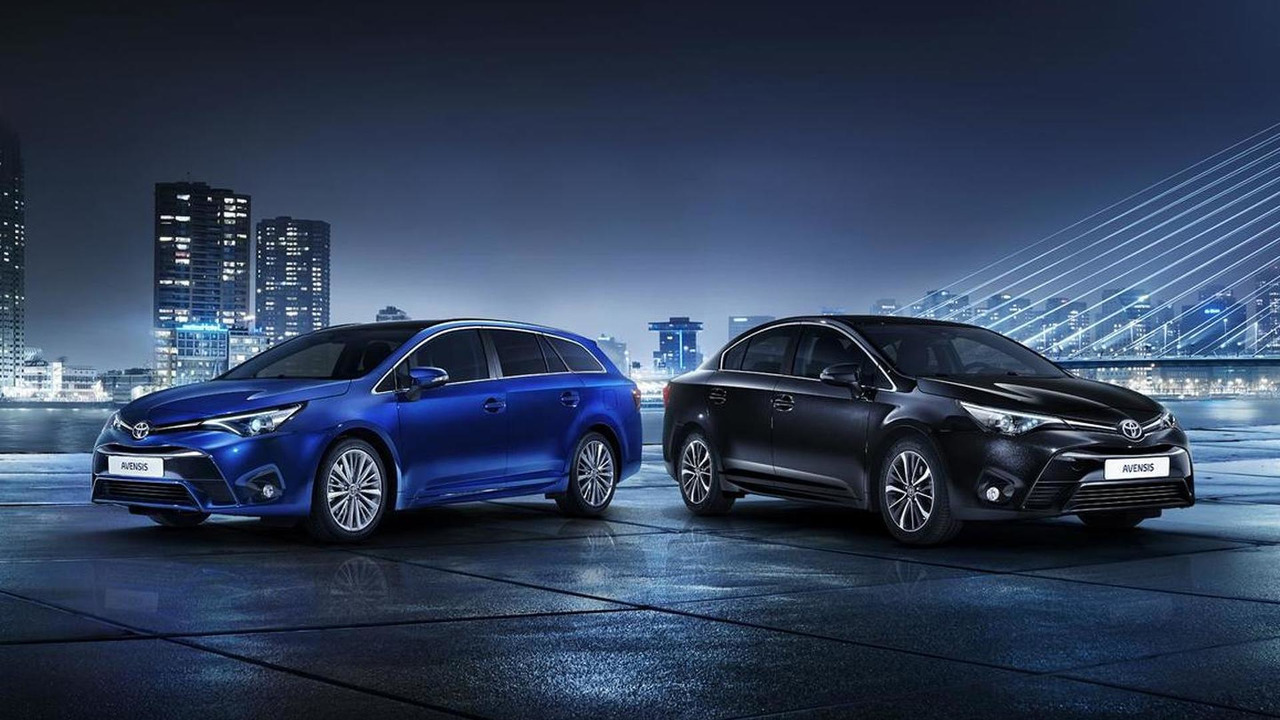 2015 Toyota Avensis facelift