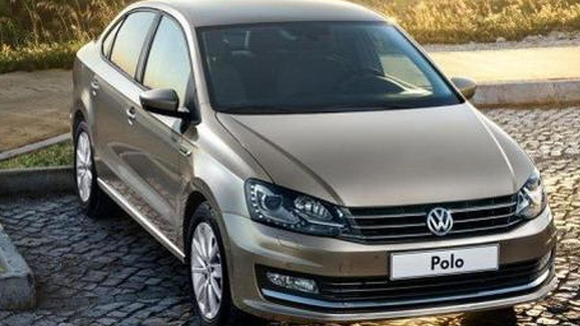 Volkswagen Polo Sedan News and Reviews | Motor1.com