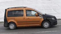 2015 Volkswagen Caddy spy photo