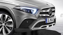 2019 Mercedes GLA render