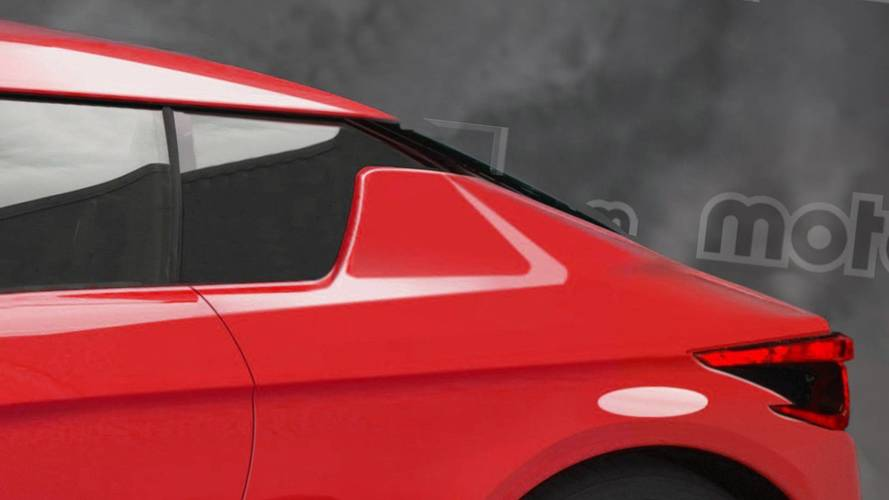 Nissan next-gen Z car rendering