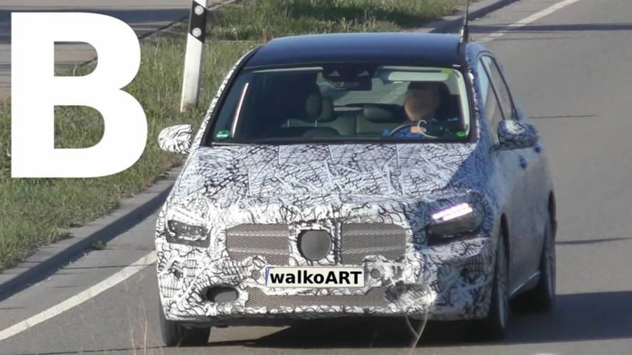 2019 Mercedes B-Serisi casus görüntüler