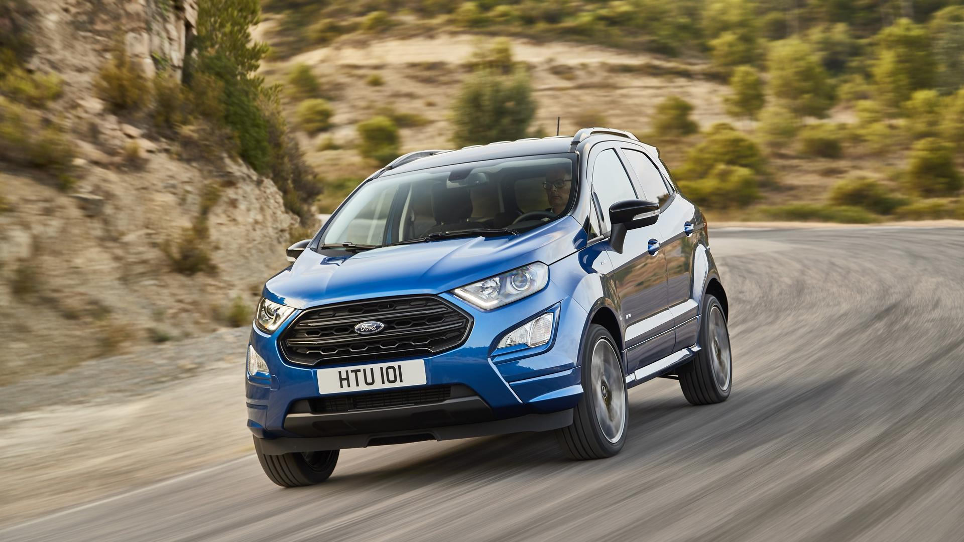 New ford ecosport suv enhances quality technology and capability to deliver more confidence and comfort