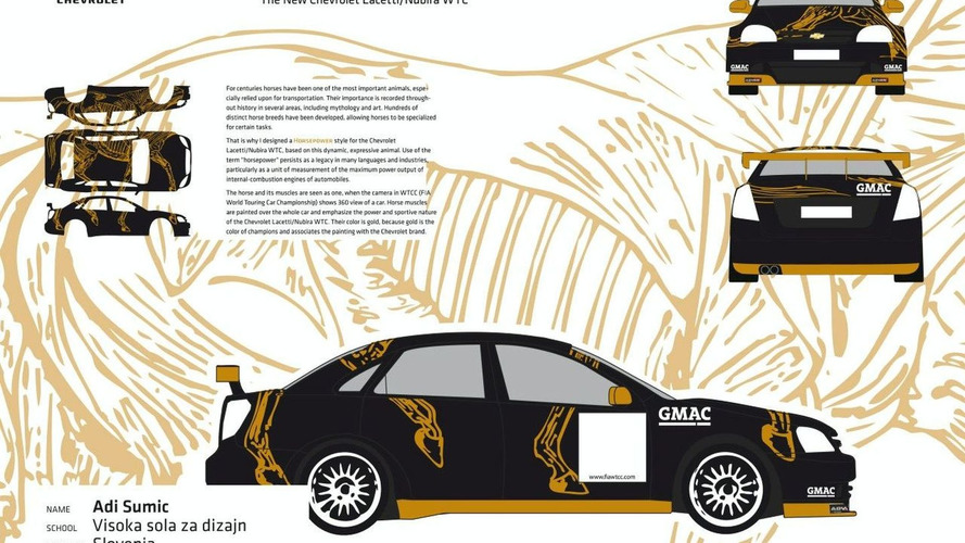 Chevrolet WTCC Graphic Design Contest