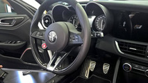 Alfa Romeo Giulia interior unofficial photo