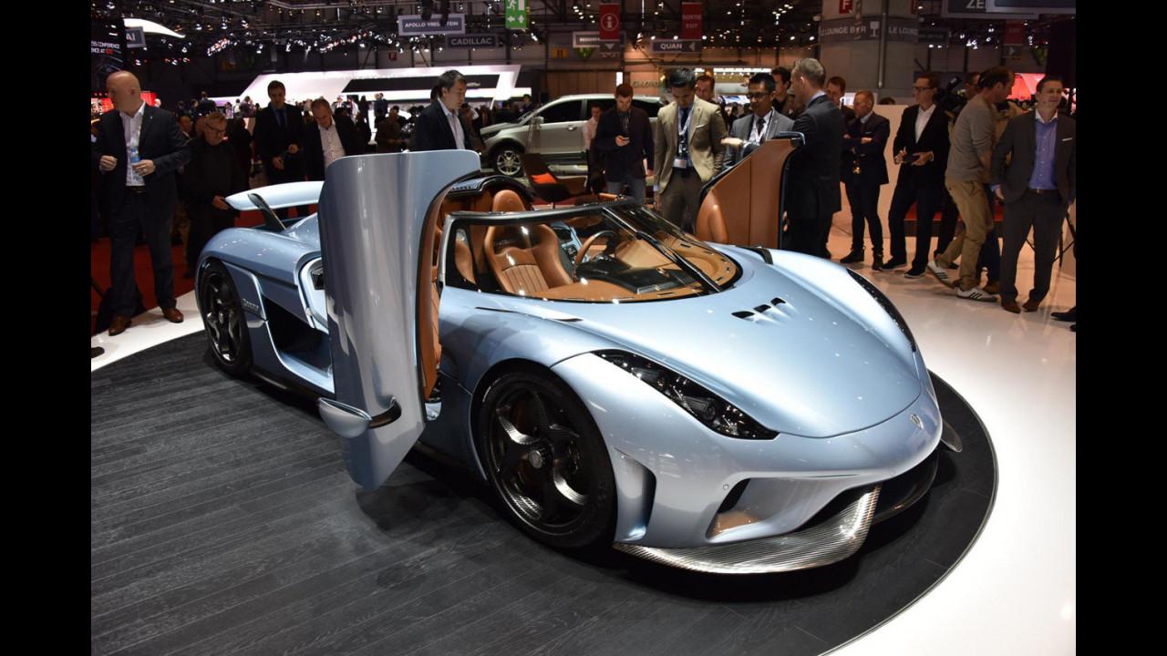 Koenigsegg al Salone di Ginevra 2015