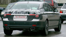 BMW 7 Series Spied with Only Light Camoflage
