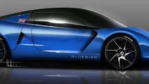 2014 Bluebird DC50 EV sports car announced