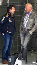 Christian Horner (GBR) and Dietrich Mateschitz (AUT) / XPB