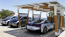 BMW DesignworksUSA shows off their stylish i solar carport concept