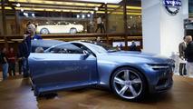 Volvo Concept Coupe live in Frankfurt 10.9.2013