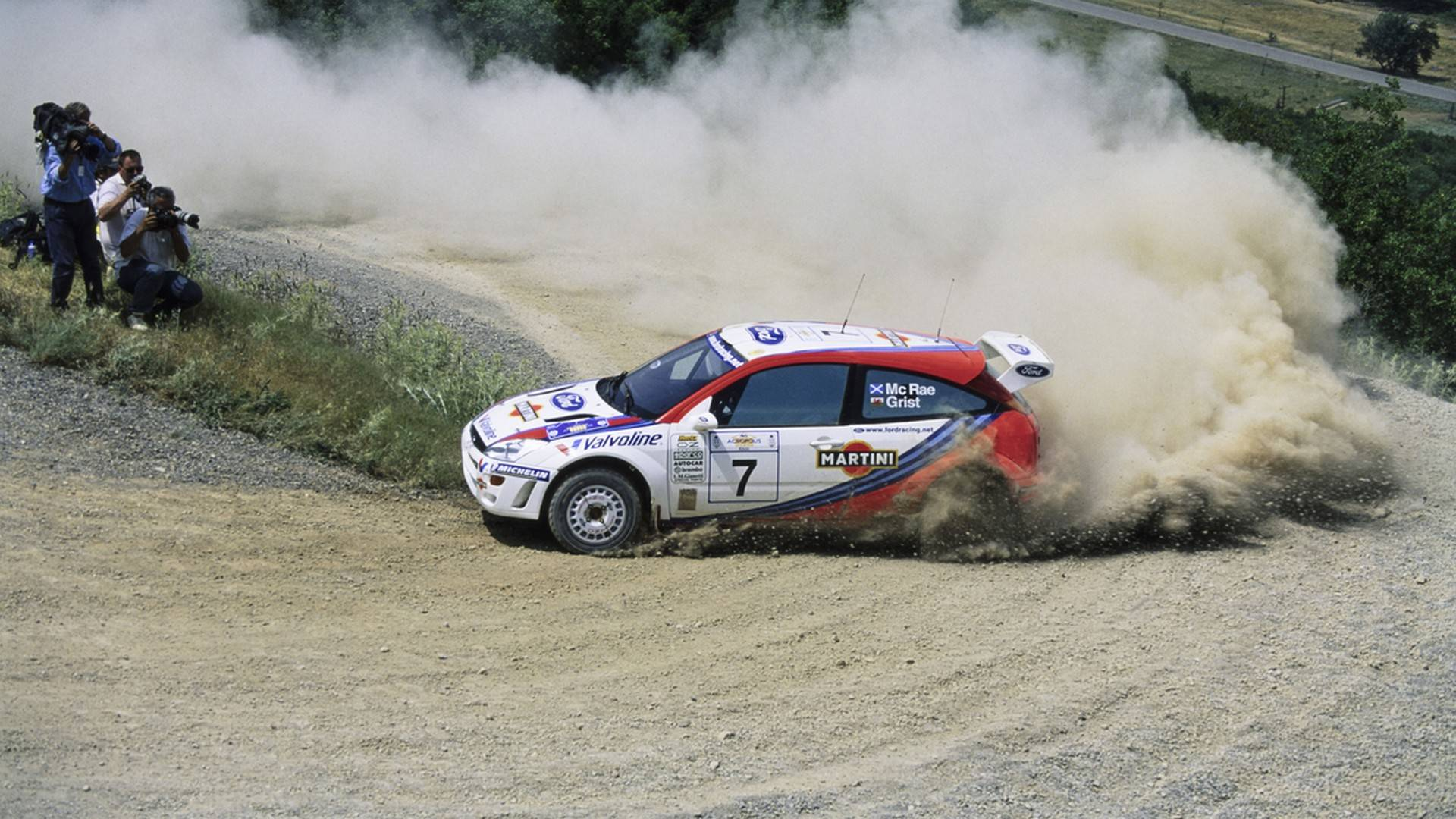 Colin McRae WRC Ford Focus Up For Sale