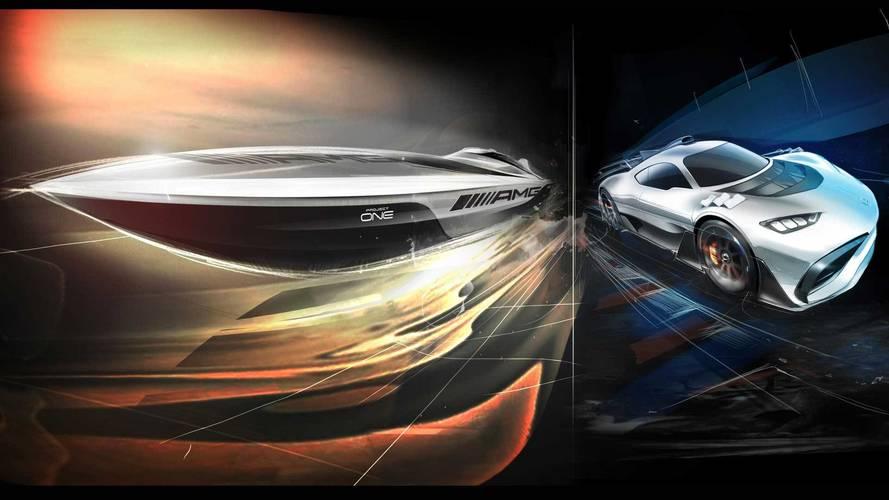 AMG Project One hiper otomobilinin tekne versiyonu geliyor