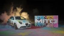 Peinture abstraite Alfa Romeo MiTo 2016
