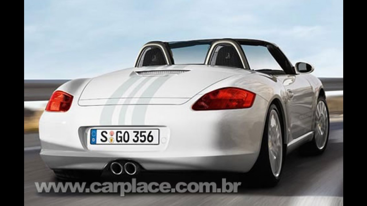 Porsche Boxster S Design Edition 2 será mostrado ao público no Salão de Paris
