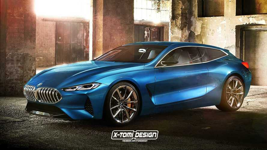 BMW 8 Series Gran Coupe, Shooting Brake, And Pickup Renders