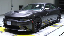 Dodge Charger wind tunnel test