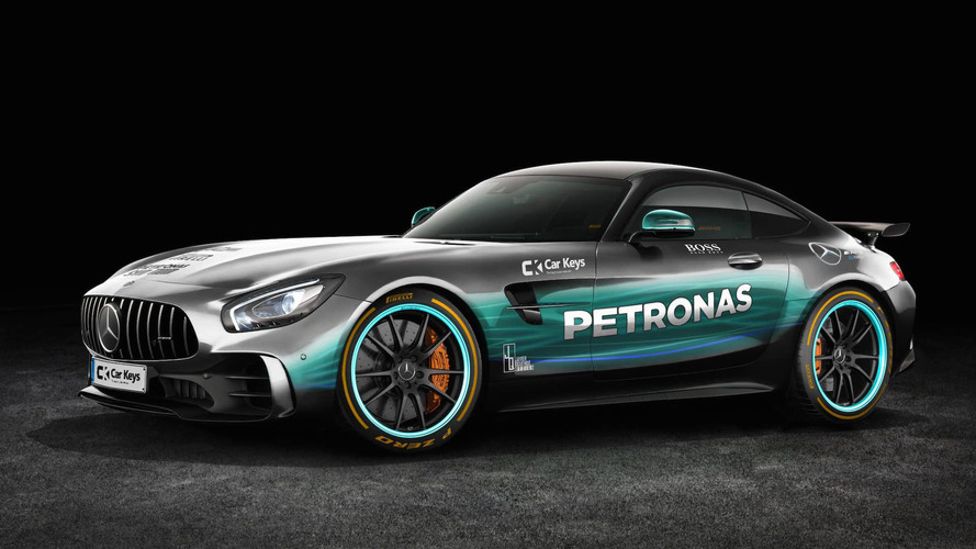 Formula 1 Paint Jobs On Production Cars