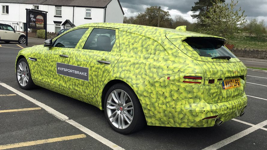 New Jaguar XF Sportbrake Spotted On UK Roads