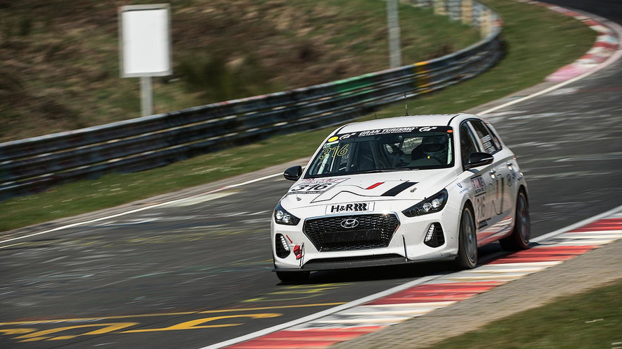 Hyundai Is Racing Its New i30 N Hot Hatch At The Nürburgring
