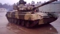 Rus ordusunun drift yapan tankı
