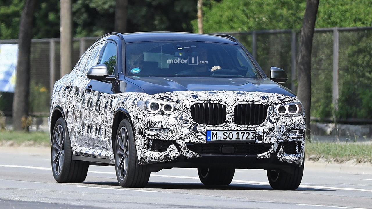 New BMW X4 spy photo