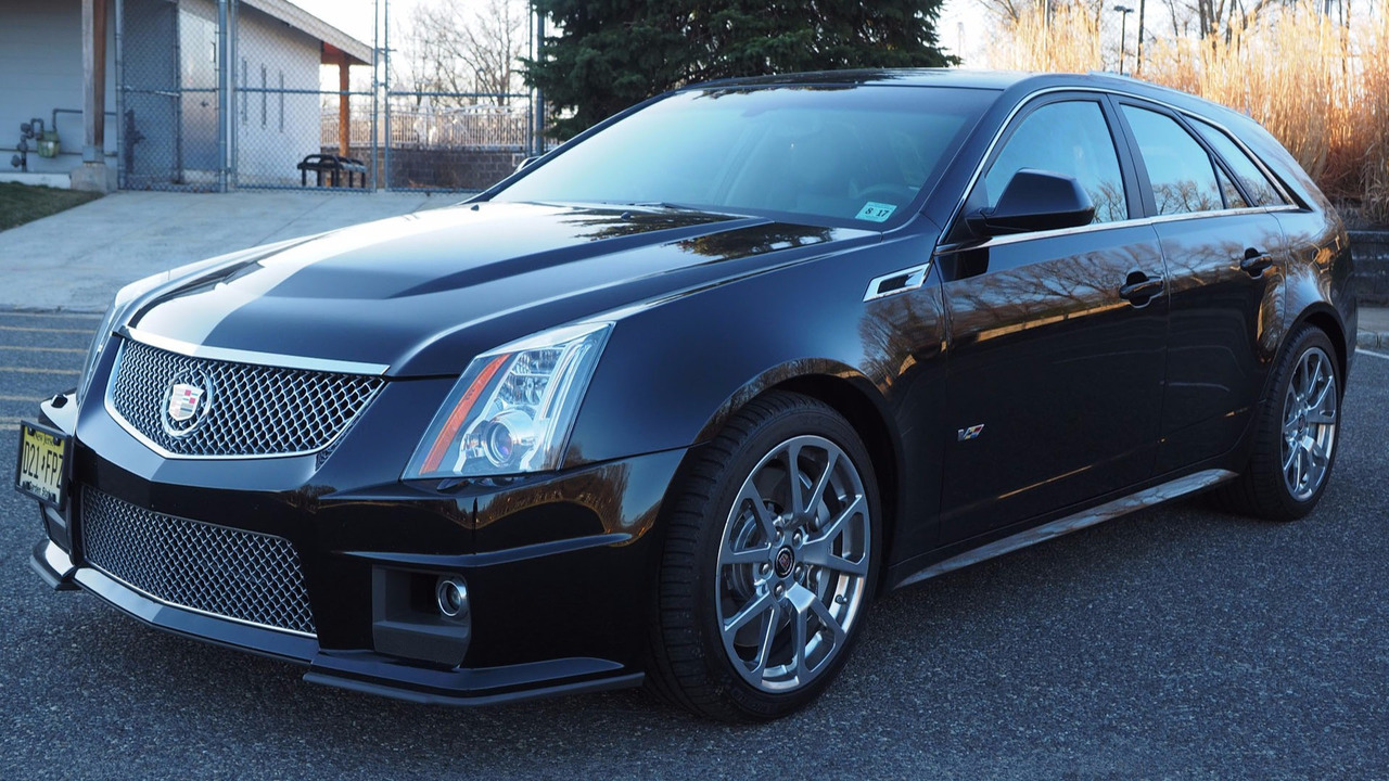 Cts-V Wagon For Sale >> Score This Rare 2012 Cadillac CTS-V Manual Wagon While Its Affordable