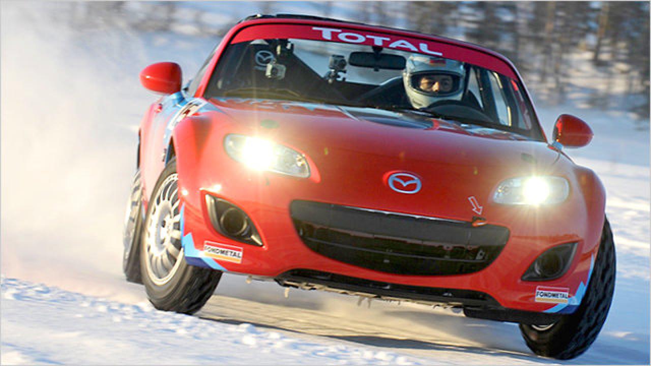 Mazda MX-5 Ice Race