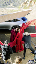 Mercedes Concept EQ and Susan Sarandon