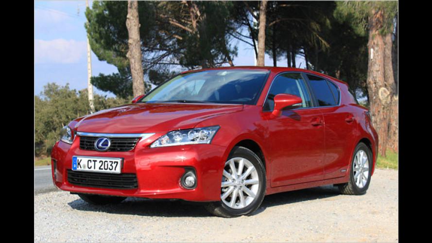 Spritsparer in der Premiumliga: Kompakter Hybrid-Lexus
