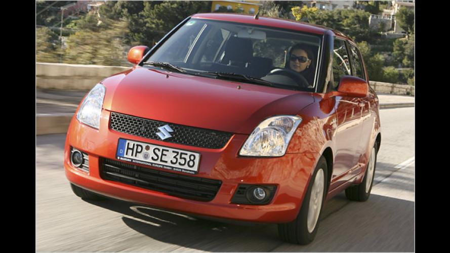 Niedlicher Nagler: Kleiner Selbstzünder von Suzuki im Test