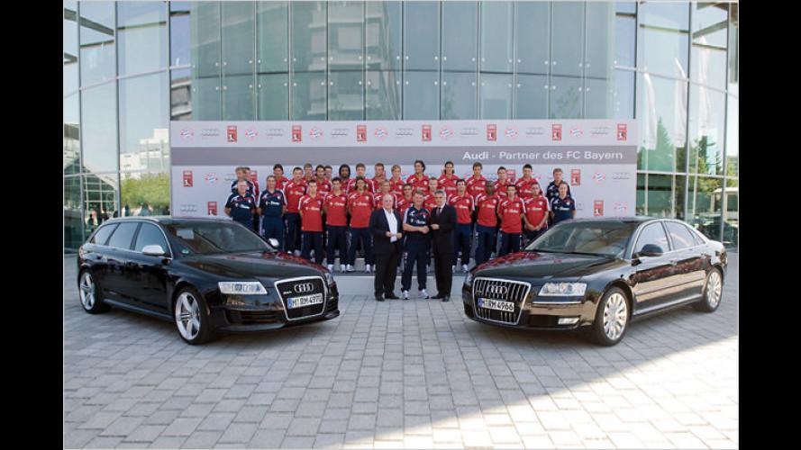 Kicker von Bayern München erhalten neue Dienstwagen