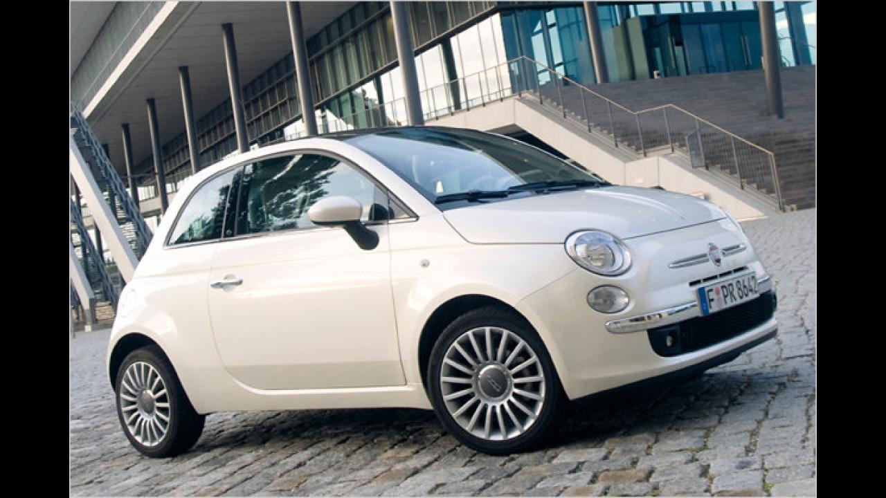 Kleinwagen, 1. Platz: Fiat 500