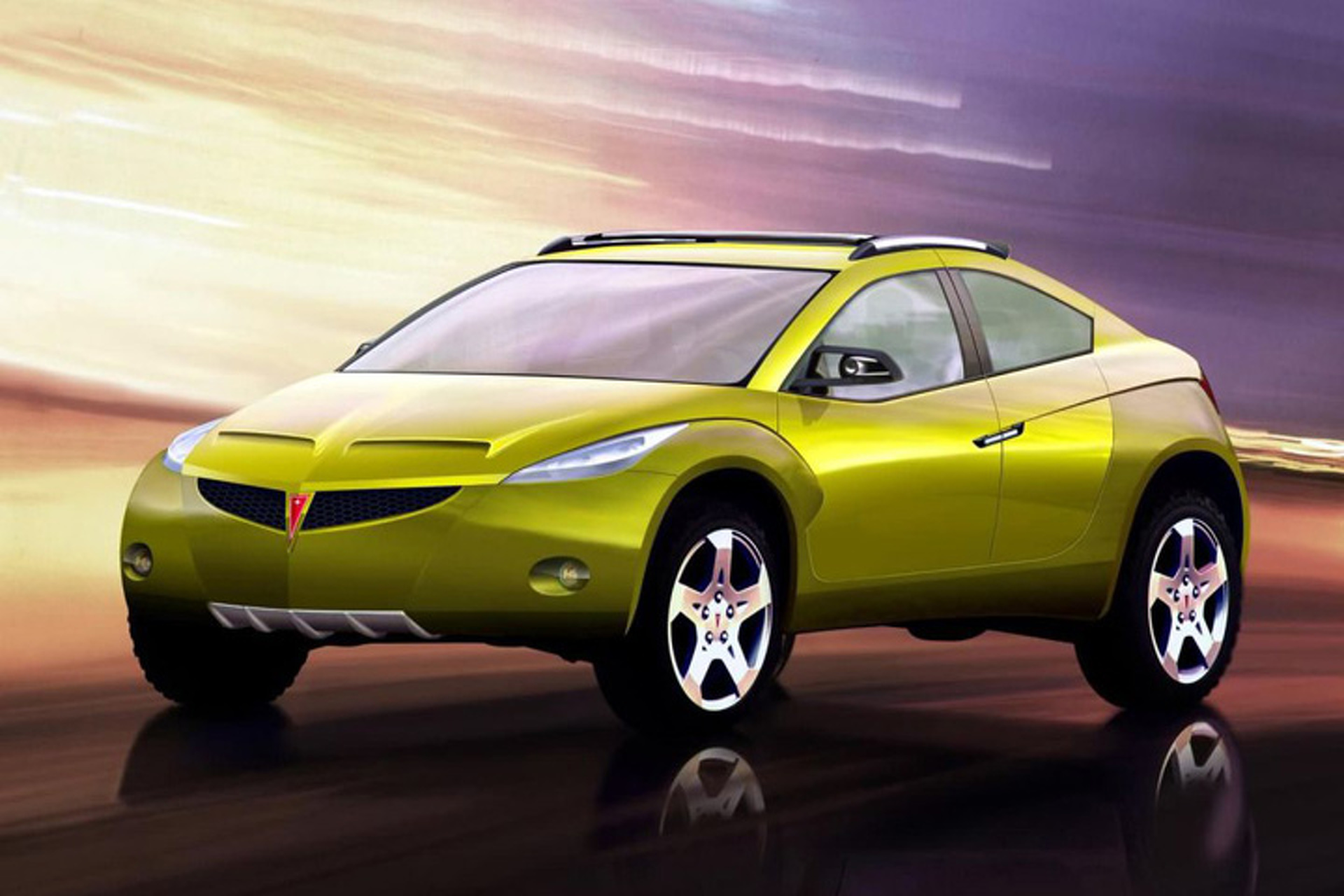 weird car of the week this pontiac suv concept was the better aztek. Black Bedroom Furniture Sets. Home Design Ideas