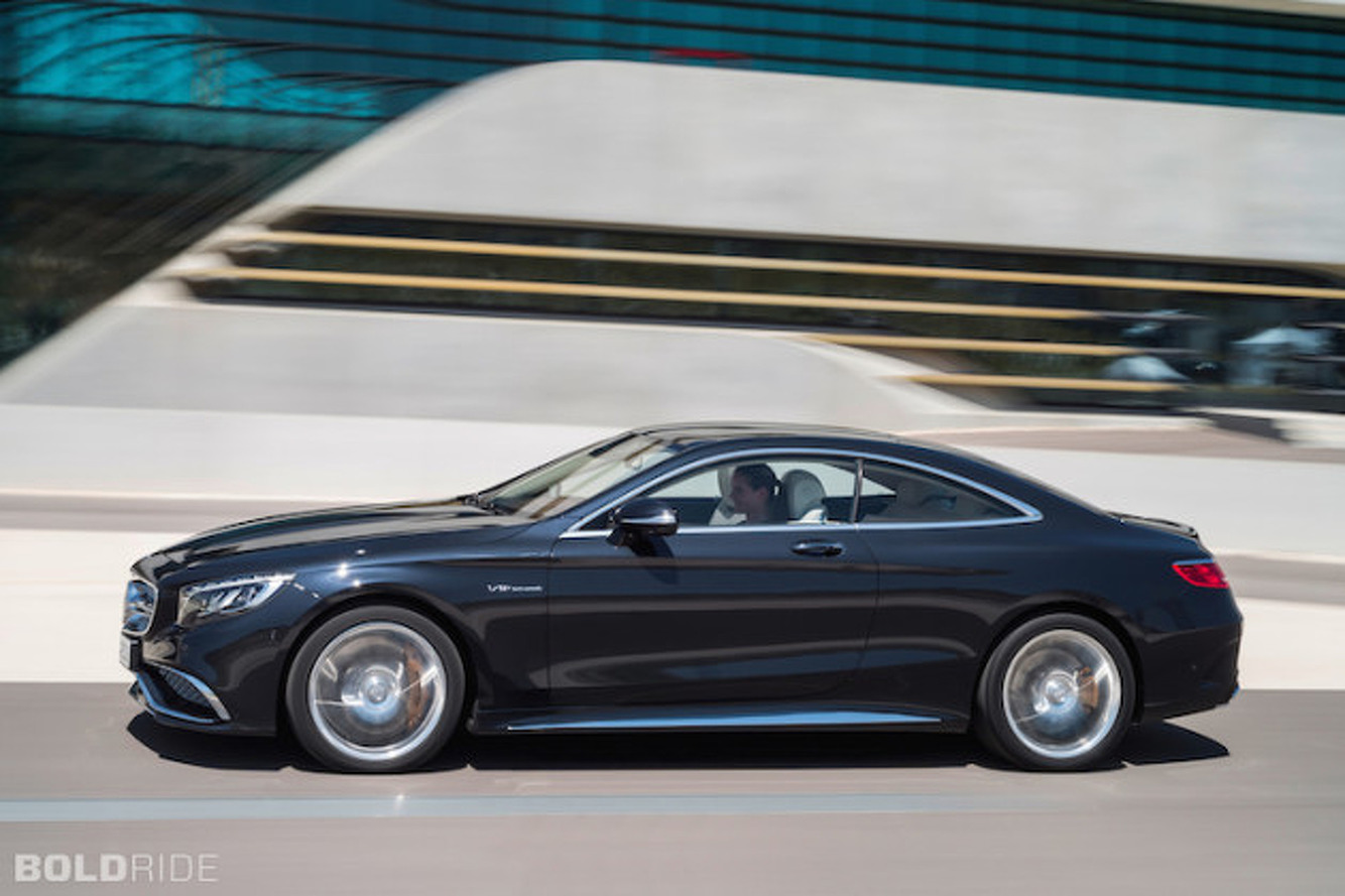 2015 Mercedes-Benz S65 AMG: A Super Coupe Wearing a Tuxedo
