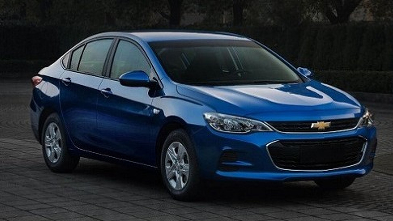 2016 Chevy Cavalier for China