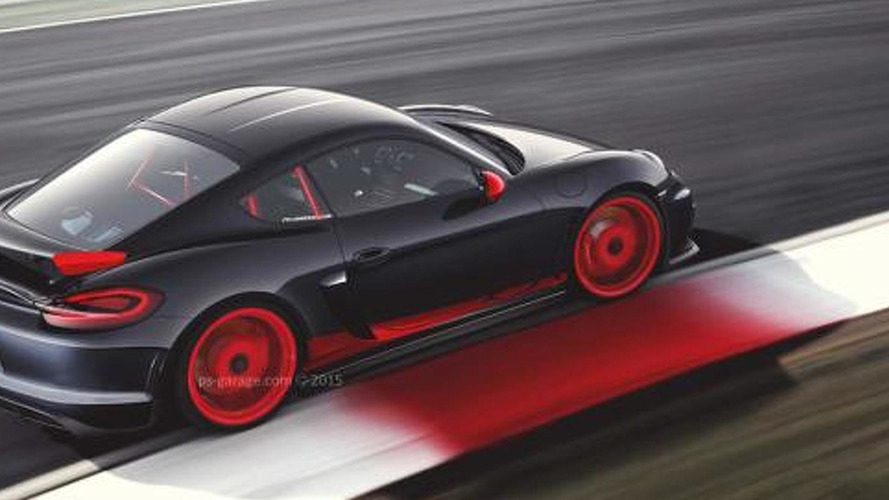 Porsche Cayman GT4 RS rendered, could eventually happen