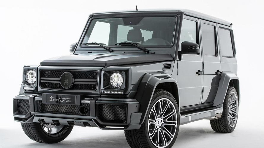 Mercedes-Benz G63 AMG by IMSA boosted to 730 PS and 1,035 Nm [video]