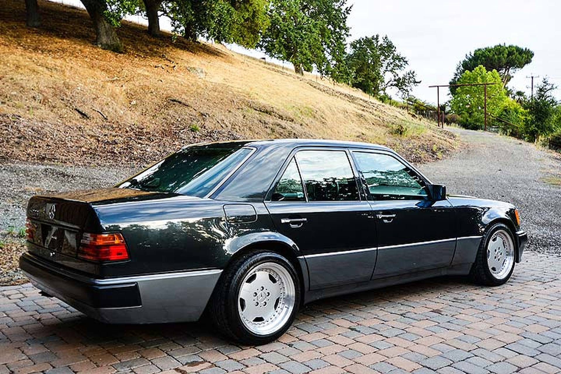 this rare mercedes 500e is the benz that porsche built. Black Bedroom Furniture Sets. Home Design Ideas