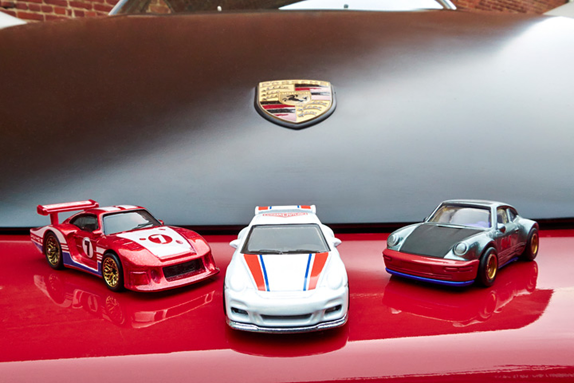 Five 'Outlaw' Porsches Have Joined the Hot Wheels Family