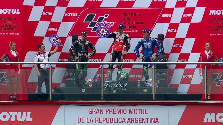 Crutchlow se lleva un disparate de carrera de MotoGP en el GP de Argentina