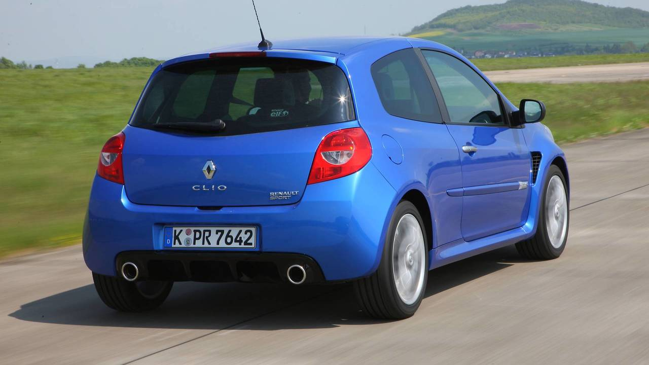 Renault Clio III RS - Phase 2