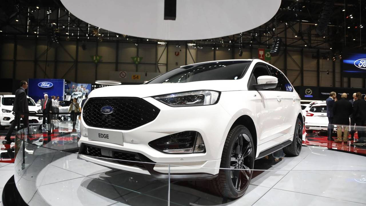 Ford Edge ST Line - 2018 Cenevre Otomobil Fuarı