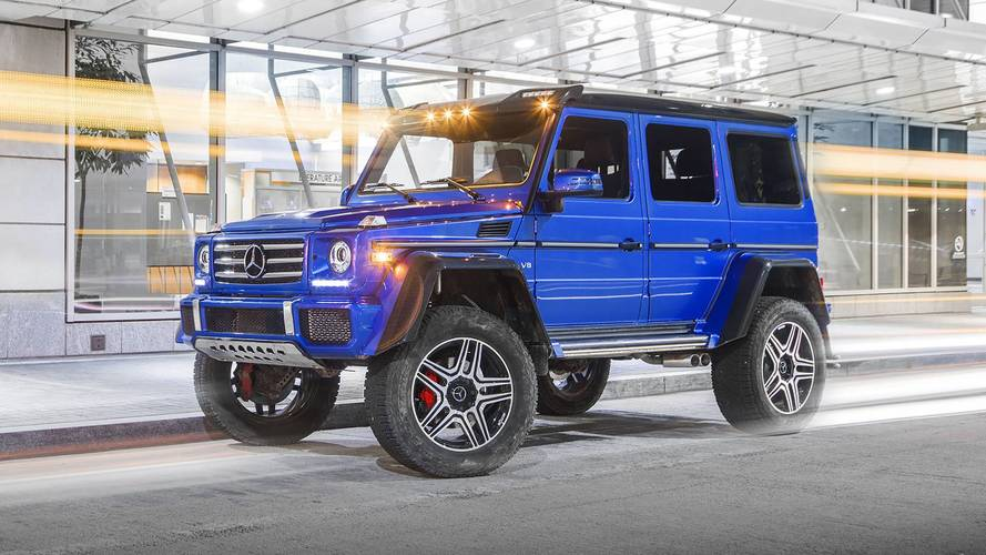2017 Mercedes-Benz G550 4x4² Review: Size Queen