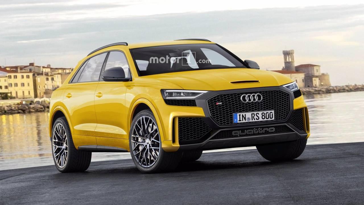 2018 Audi Q8 / RS
