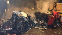 Ferrari 599 GTO melts in the Dominican Republic