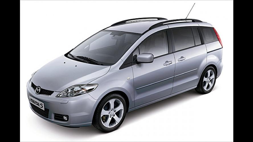 Der Mazda 5 kommt: Raum-Wagen mit bis zu sieben Sitzen
