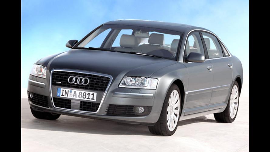Mehr Power für Audi A6 und A8 durch Achtzylinder vom RS4