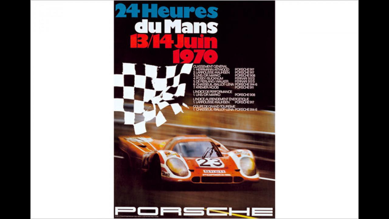 40 Jahre Porsche Le-Mans-Sieg